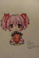 Madoka and strawberry by cztero-cian
