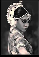 Odissi dancer by Netjeret