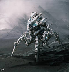 Walker by alexliuzinan