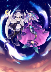 Aurami x Fairy Vial by goldenncat