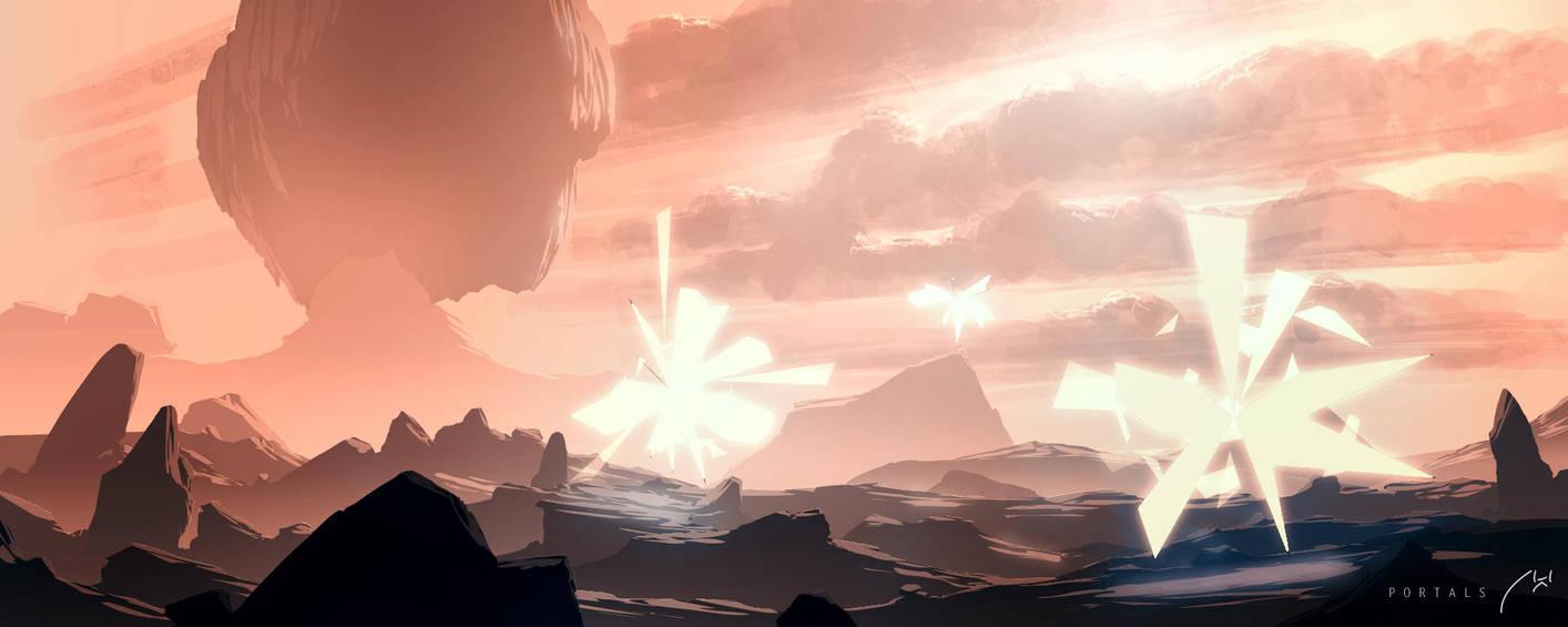 Portals by xistenceimaginations