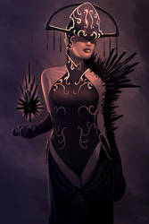 Sister of the Order of the Dark Fragment by xistenceimaginations
