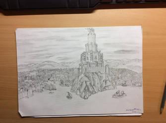 Eltaun, Citadel of Clan Maerstorm by StyrBj0rn