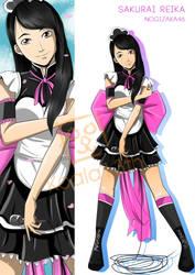 Nogizaka46 captain, Sakurai Reika by Will-D-Ant