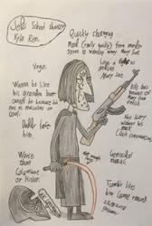 Jedi School Shooter Kylo Ren. by 9rium74-79