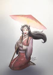 Yuzen - Sakura by b-cesar