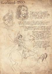 Day 02 - The Elven Emperor - Leonardo D20 by b-cesar