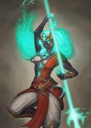 Yuzen - Yudha the soul reaper by b-cesar