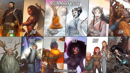 Summary 2016 by b-cesar