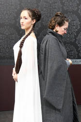 Past and present Leia ~ May the force be with you by Pandore11