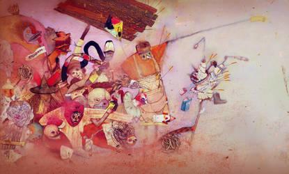 Carnaval funebre by kaiserknife