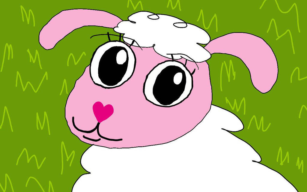 Lady Sheep by SkeletonAsh620