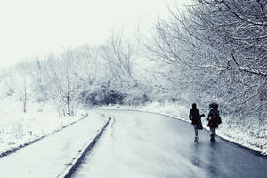 A long long way home by TheEscapistInTokyo