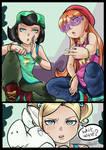 Pop'n'Lock Girls by BlossomPPG