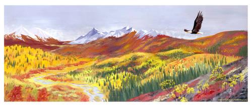Yukon, autumn by Marfigram