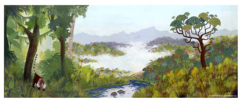 The amazon forest by Marfigram