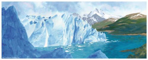 Perito Moreno in Argentina by Marfigram