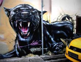 BLACK PANTHER by slacsatu