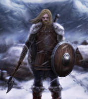 Viking warrior by michaeldaviniart