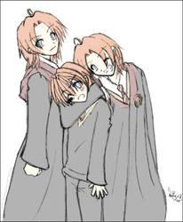 HP: Weasley's boys by prongsie