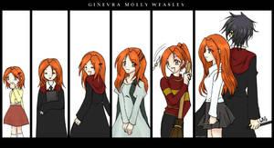 HP: Ginevra M. Weasley by prongsie