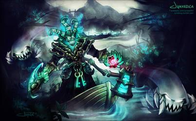 Thresh | League of Legends by Jynxed-Art