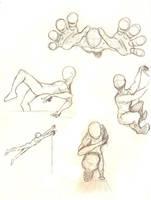 Parkour Sketches by Atraga