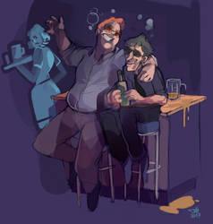 Drinking Buddies by Jimbury