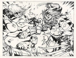 Williams inking Joe Madueriera by INKIST