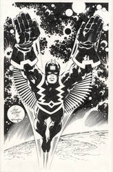 Kirby and Williams Black Bolt by INKIST