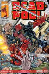 Deadpool cvr-1  Back in the day!! by nam3l3ss