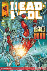 Deadpool cvr-2 Back in the day!! by nam3l3ss