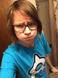 hi im sorry forgive me have a b-day selfie by RaspberryAlpaca-chan