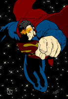 Superman - Colours by Little--Broling