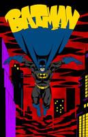 Holy Dark Knight, Batman!! (Batman Colours) by Little--Broling