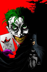 Bats in the Belfry (Batman-Joker colours) by Little--Broling