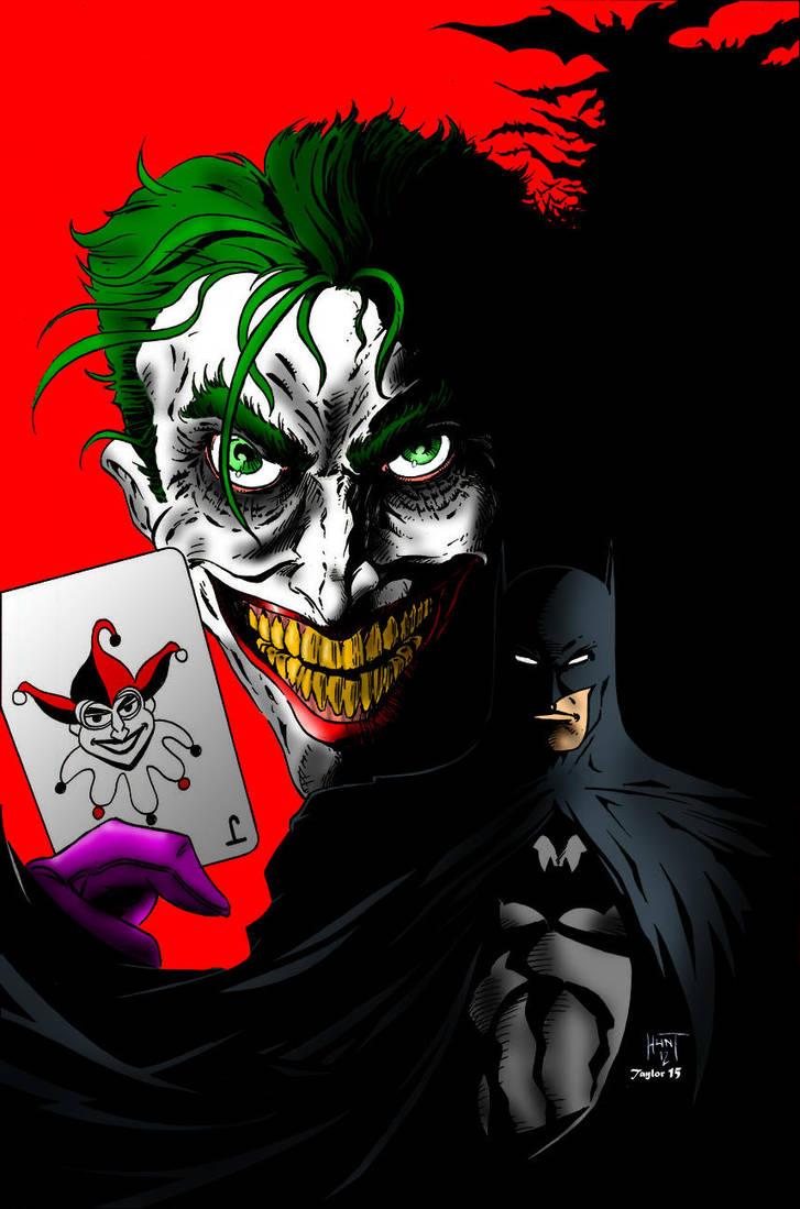 Bats in the Belfry (Batman-Joker colours) by Little--Broling