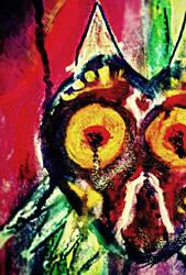 Majora's Mask Painting by jesseuhhyeah
