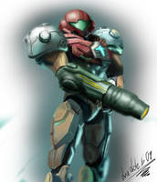 PED suit Samus by ludde740