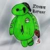 [Fan Art] Zombie Baymax by xFerlicious
