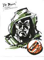 Dr Doom sketch by GEMWOLF