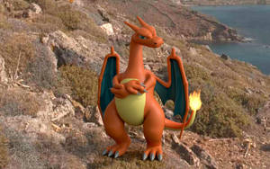 3D Charizard Composite Scene 1 by LordOfDragons