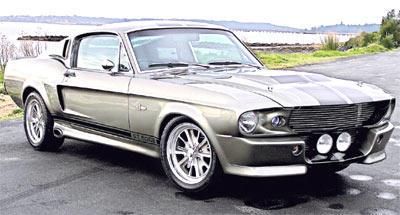 1967 Shelby GT 500 by buckey2010