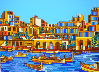 Commission Spinola Bay by Evilpainter
