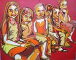 six little Bali girls by Evilpainter