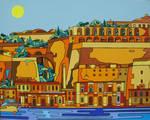 my side of Valletta by Evilpainter