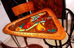 table guitar player by Evilpainter