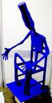 blue man by Evilpainter