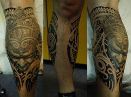 Polynesian aztec by strangeris