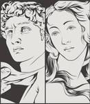 David vs Venus by craniodsgn